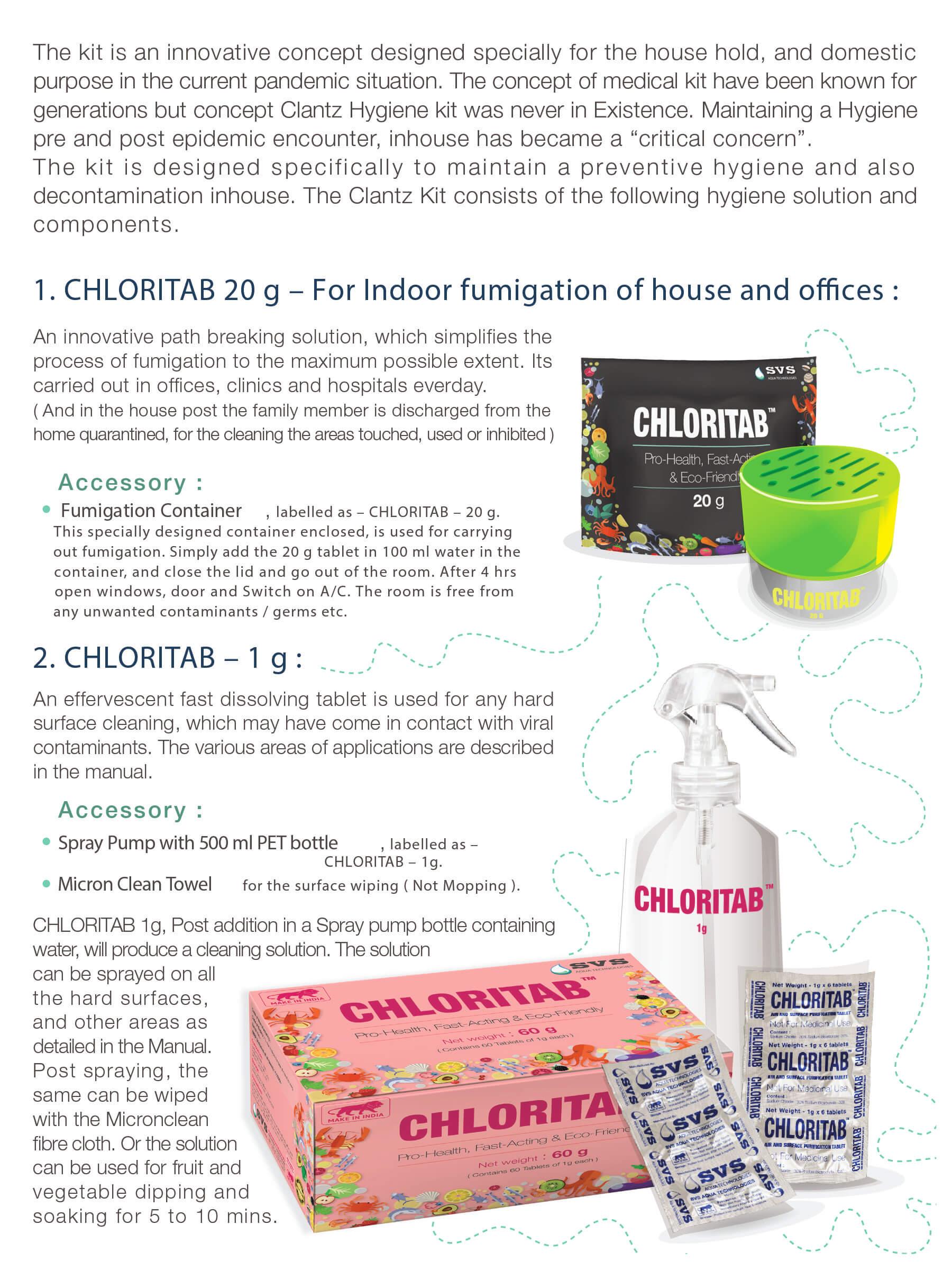 Clantz Hygiene Kit