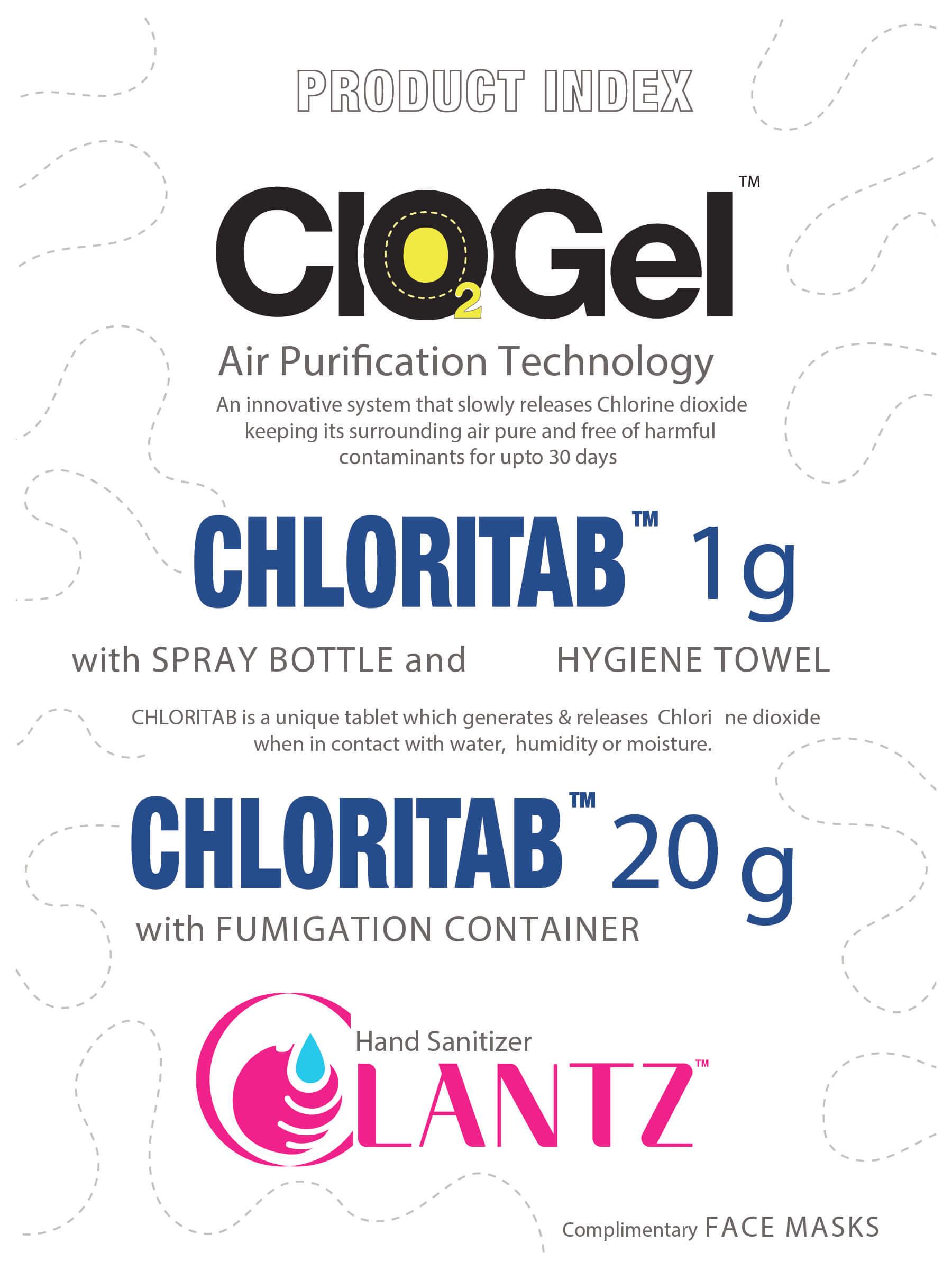 Clantz Hygiene Kit manual