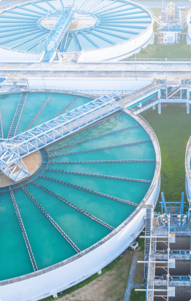 Use of Clo2 in waste water treatment
